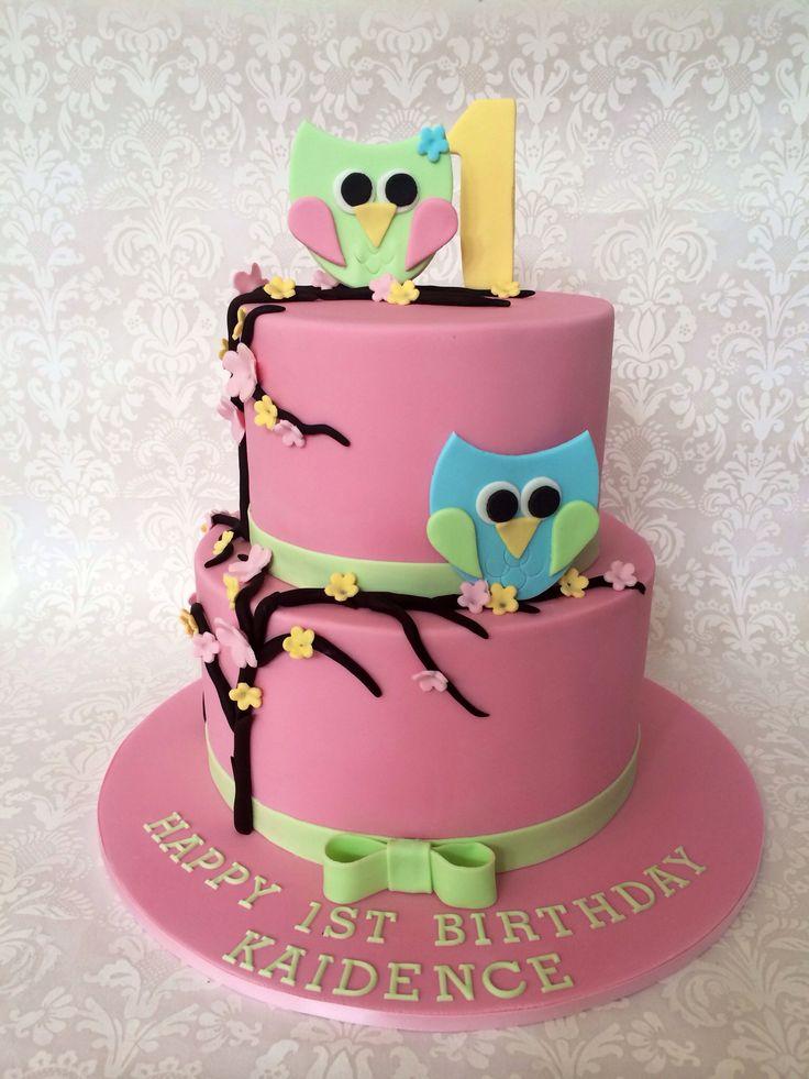 Edible Cake Image Owl : 101 best Edible Art images on Pinterest Edible art ...