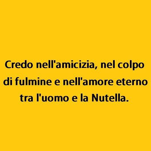 Seems legit. (by @masse78) #tmlplanet #amicizia #amore #nutella #cioccolata