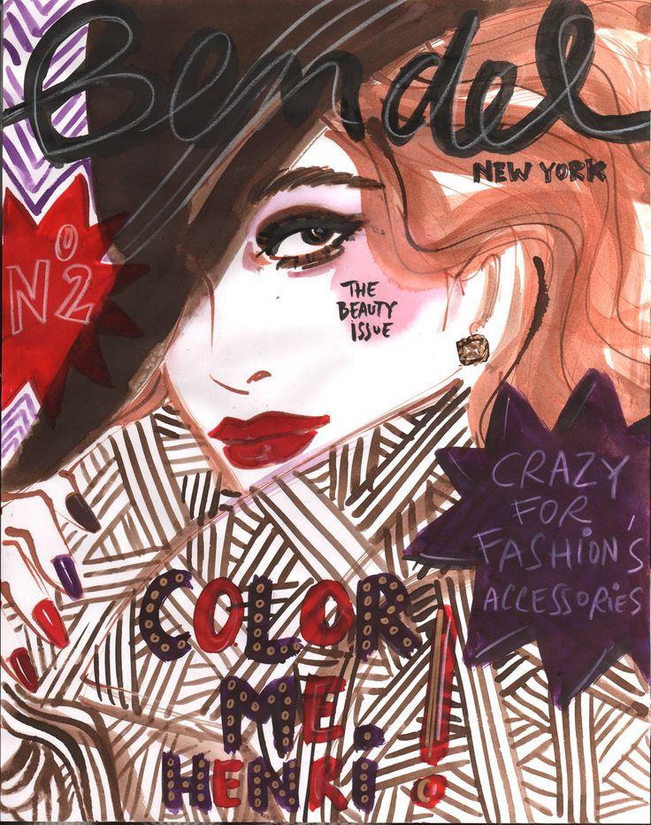 Pin by Izak Zenou on Beauty Illustration Beauty
