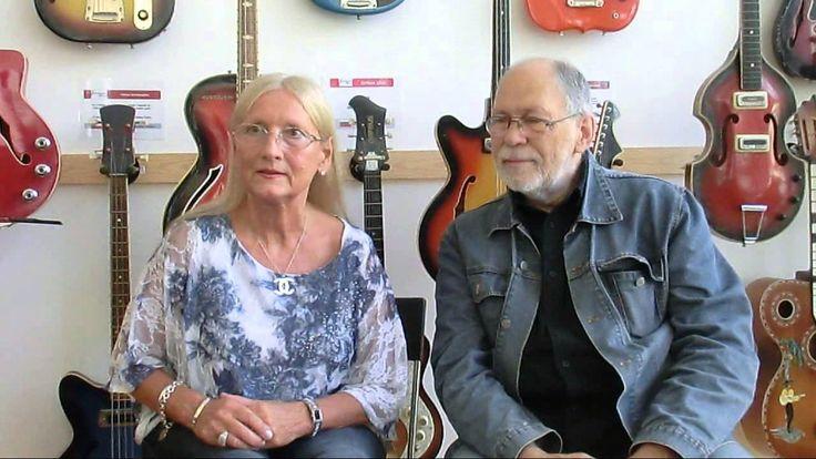 Wittek Mária és Kovacsics András a Rockmúzeumban (2014 09 17)