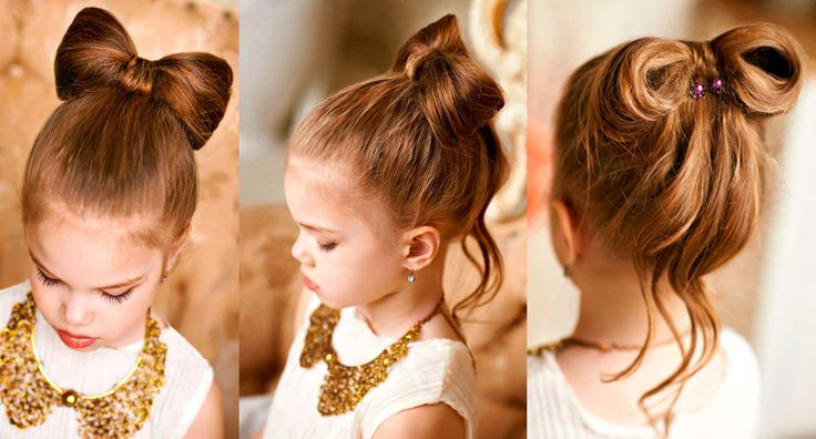 Peinados elegantes para niña on Pinterest | Little Girl Hair ...