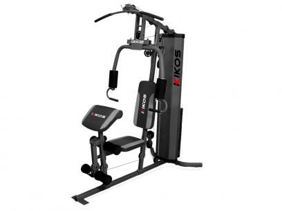 Estação de Musculação Kikos GX2 - com Mais de 25 Tipos de Exercícios com as melhores condições você encontra no Magazine Gatapreta. Confira!