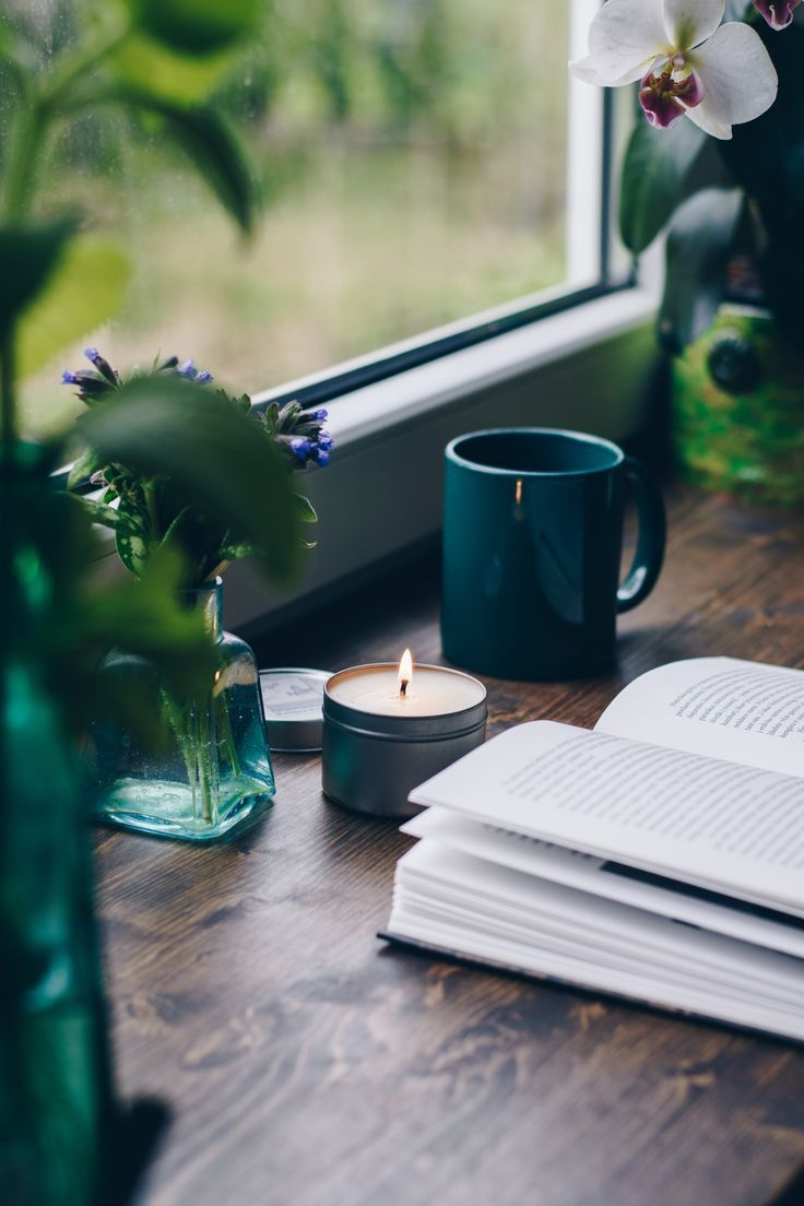 by the window *I wonder if my future husband would constantly reading a book, wh…