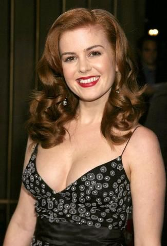 Isla Fisher - amazing 40's hair