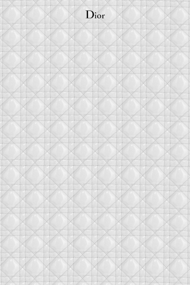 White Dior Monogram Wallpaper Apple Wallpaper Monogram