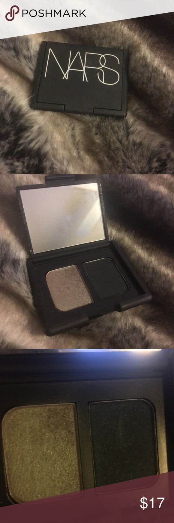 💐[nars] eyeshadow duo Used once!   〰〰〰 ▫️all items come from a smoke-free environment🚭 ▪️no trades or holds ▫️price firm, no offers please NARS Makeup Eyeshadow