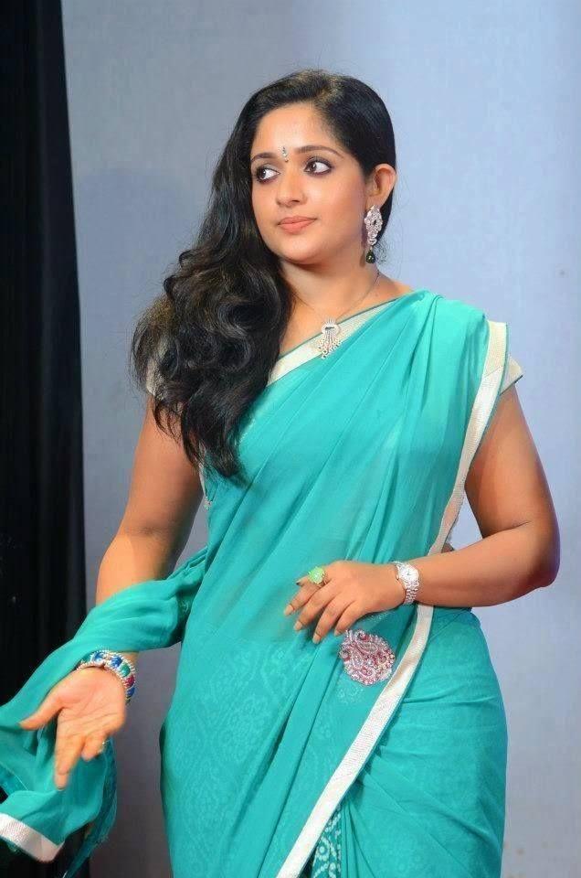 Kavya Madhavan Hot Image in Saree
