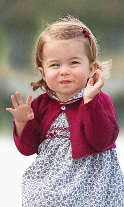 Where does Kate buy Charlotte's clothes? The Duchess has shown a penchant for Spanish labels, which are likely the recommendations from nanny Maria Borrallo. Her picks include Pepa & Co., Irulea and M&H. Closer to home, Kate has bought outfits from John Lewis, Olivier Baby and Amaia Kids (a favorite for Charlotte's pretty hair bows) and Early Days (the company behind a lot of the princess's footwear). Photo: Stephen Lock - Pool/Getty Images