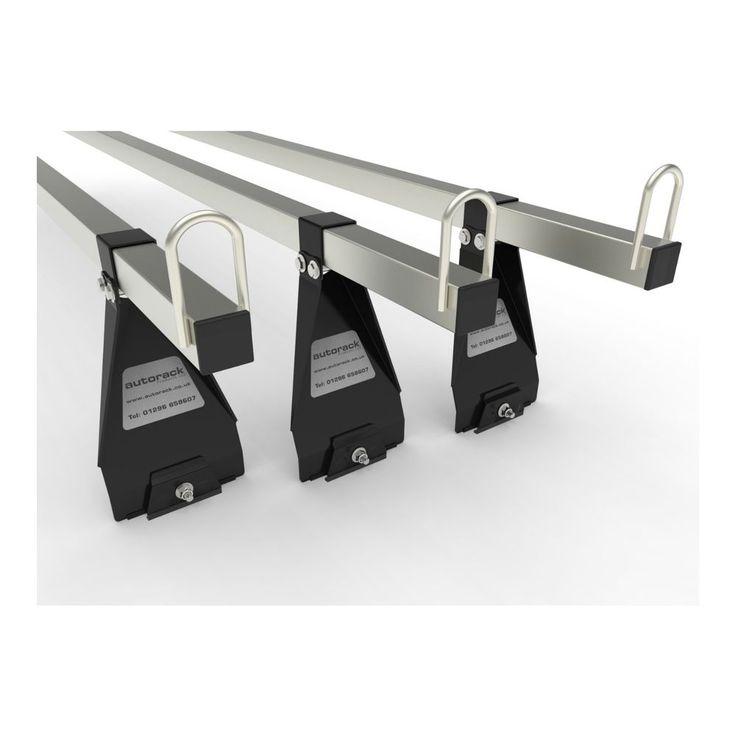 VAN ROOF RACK BARS 3 BARS for Land Rover 90 & 110 Defender AUTORACK MegaBars  #AUTORACKROOFRACKS