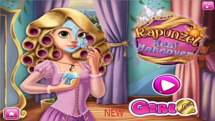 Disney Princess Games Rapunzel Real Makeover Disney Princess Games for Girls