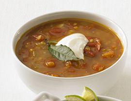 Eastern European Red Lentil Soup