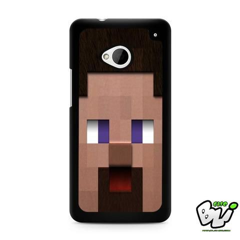 Minecraft Steve Head HTC G21,HTC ONE X,HTC ONE S,HTC M7,M8,M8 Mini,M9,M9 Plus,HTC Desire Case