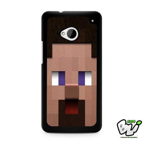 Minecraft Steve Head HTC G21,HTC ONE X,HTC ONE S,HTC M7,M8,M8 Mini,M9,M9 Plus,HTC Desire Case