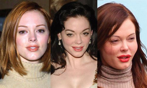 What do you think about the new looks of Rose McGowan?