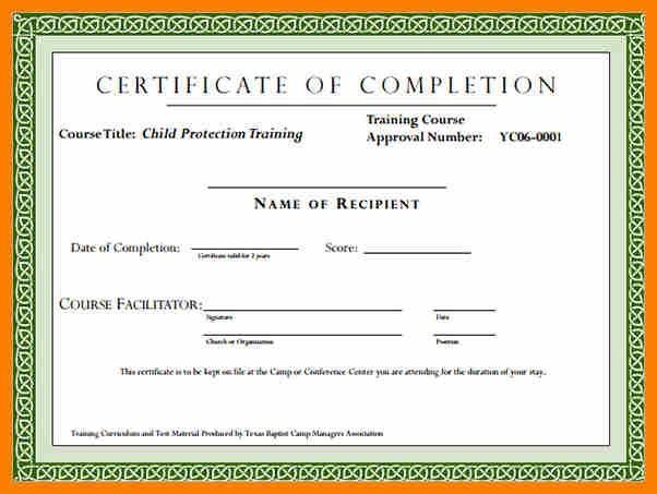 Computer Certificate Format Interesting 7 Computer