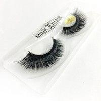 3D, Mink Hair, Natural, Soft, False Eyelashes, Full Strip Eyelash