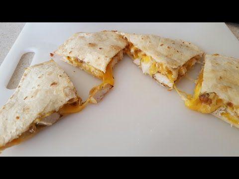 Air Fryer Chicken Quesadilla Cook's Essentials 5.3qt Airfryer - YouTube