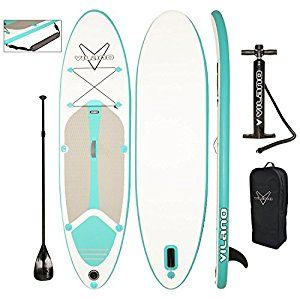 Amazon.com : Vilano Journey Inflatable SUP Stand up Paddle Board Kit : Sports & Outdoors