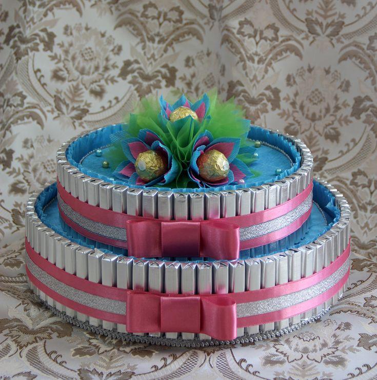 Торт из конфет - Babyblog.ru