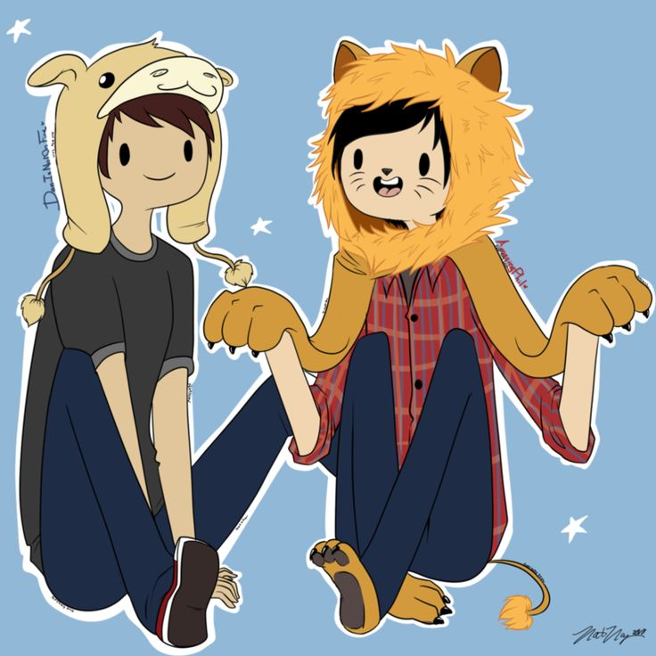 Images For > Dan And Phil Cute
