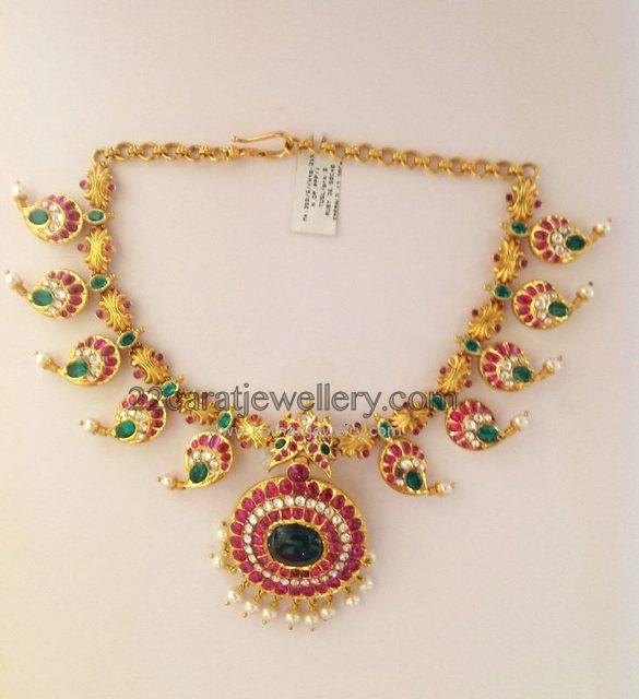 Mango Necklace from Kothari