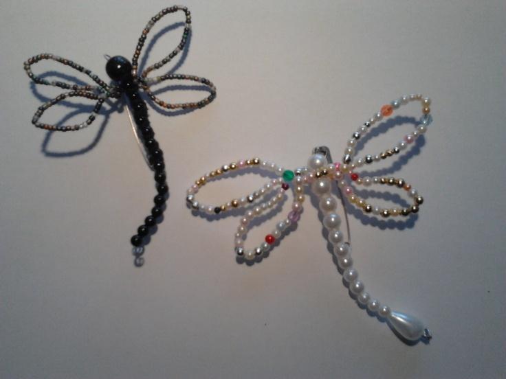 Maravillosas libélulas, para lucir en la solapa de la chaqueta