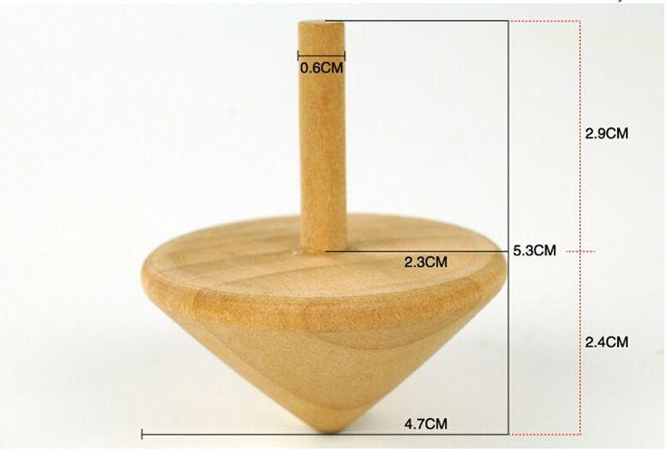 Gros livraison gratuite 1 pcs en bois toupie adultes et bébé jouets cadeau dans Toupies de Jouets & loisirs sur AliExpress.com | Alibaba Group