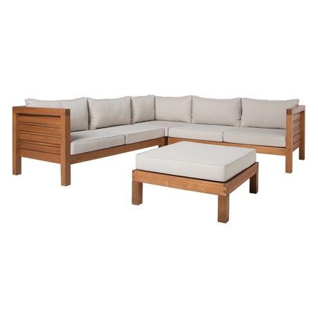 Portsea MKII 4 Piece Sofa Package | Freedom Furniture and Homewares