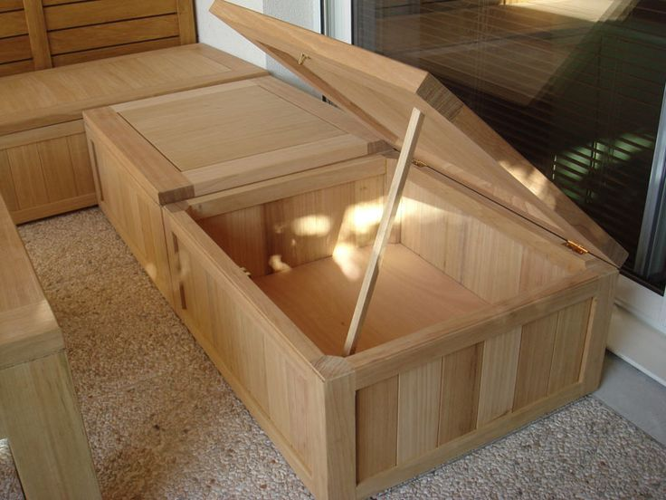 25 best ideas about coffre rangement jardin on pinterest coffre rangement - Table hauteur modulable ...