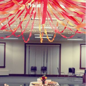 Fun and Festive Ceiling Streamers. Diy Party DecorationsParty ...