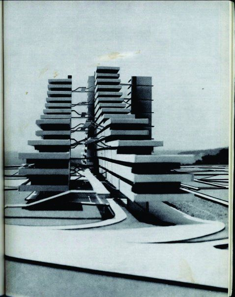 Francesco di Salvo: Le Vele di Scampia, housing, Napoli (I), 1962-75: modello