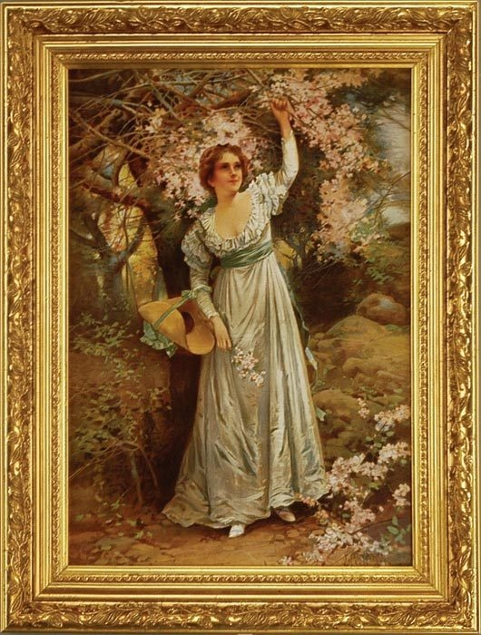 Victorian Trading Co. Print   Aℜ ⊱Lovely Lady⊰   Pinterest