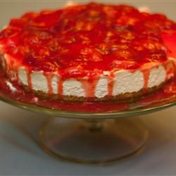 No Bake cheesecake. I don't use the canned filling - but this is a really good no-bake recipe. I add vanilla to make it super yummy.