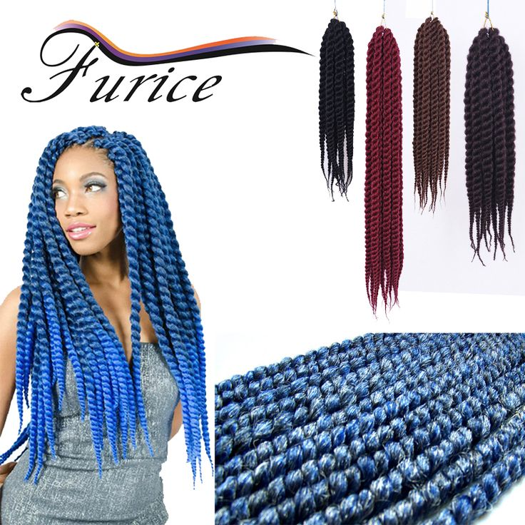 havana mambo twist crochet braid hair havana mambo twist 12-24inch full-size black/purple/burgundy Crochet Twist hair extension -- You can find out more details at the link of the image.