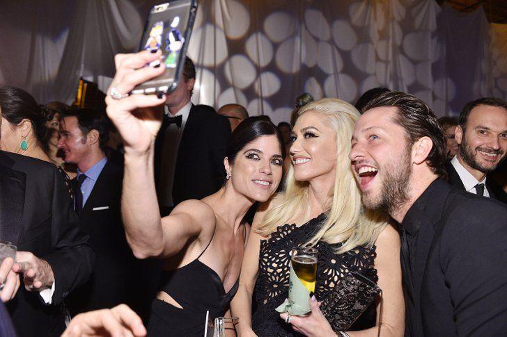 Pin for Later: Ce Weekend, les Grands d'Hollywood Se Sont Réunis Pour une Bonne Cause Gwen Stefani, Selma Blair, et Derek Blasberg
