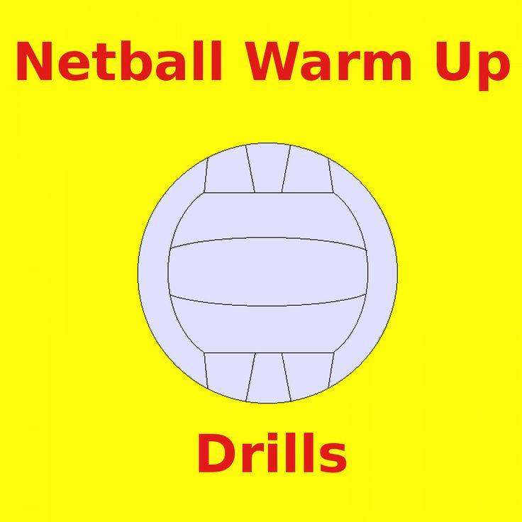Netball-Warm-Up-Drills ~ #NetballDrills #Netball #Sport