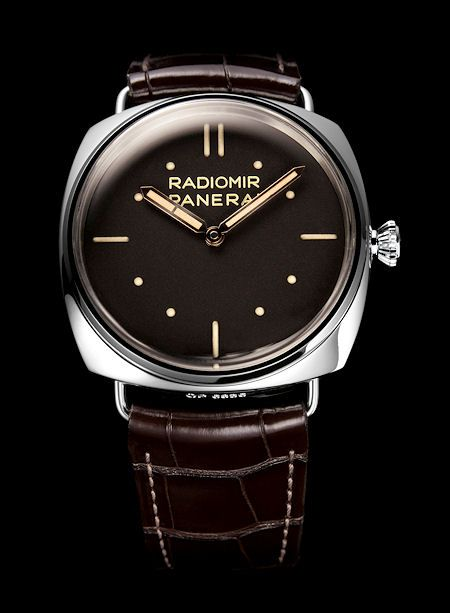 Watches, fashion and stuff that I like. Panerai watches are amongst my favorites for their minimalistic design. Panerai Radiomir 3 Days Platino 47 mm.