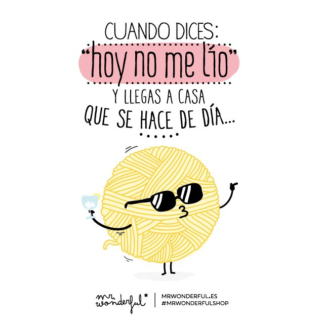 ¿A que a ti también te pasa? #quote #mrwonderful #funny #illustration