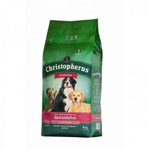 Aus der Kategorie Trockenfutter  gibt es, zum Preis von EUR 45,45  <br /><br />ALLCO Christopherus- Getreidefrei mit Hirsch + Kartoffel<br />- für ausgewachsene Hunde mit besonderen Ernährungsansprüchen und einer normalen Aktivität<br /><br />Die besondere Rezeptur dieser Vollnahrung erlaubt eine gänzlich getreide- und glutenfreie Versorgung Ihres Vierbeiners.<br />Durch die besonderen, exklusiven Eiweißquellen wie Hirsch oder Kartoffel eignet sich dieses Produkt ideal zur Ernährung bei…