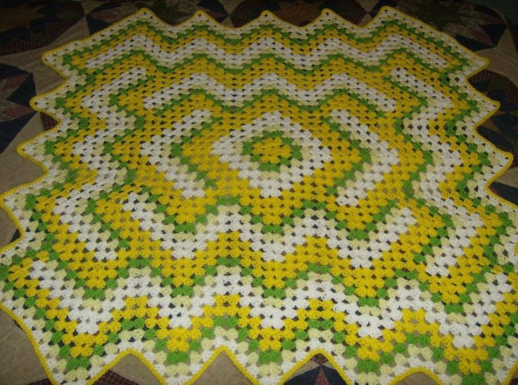 Best 102 Afghans Ripple Combos Crochet Images On Pinterest