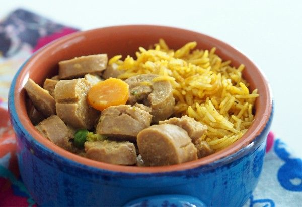 Thermomix-Coconut-and-Curried-Sausages