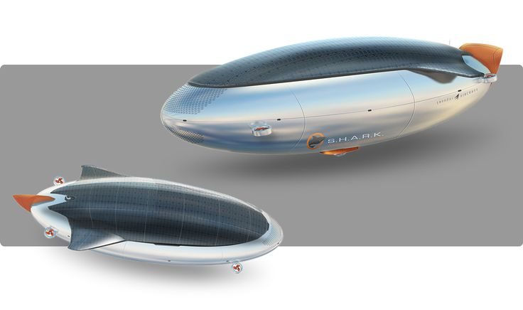 S.H.A.R.K. on Behance Airship design concept. Design sketch #design #airship