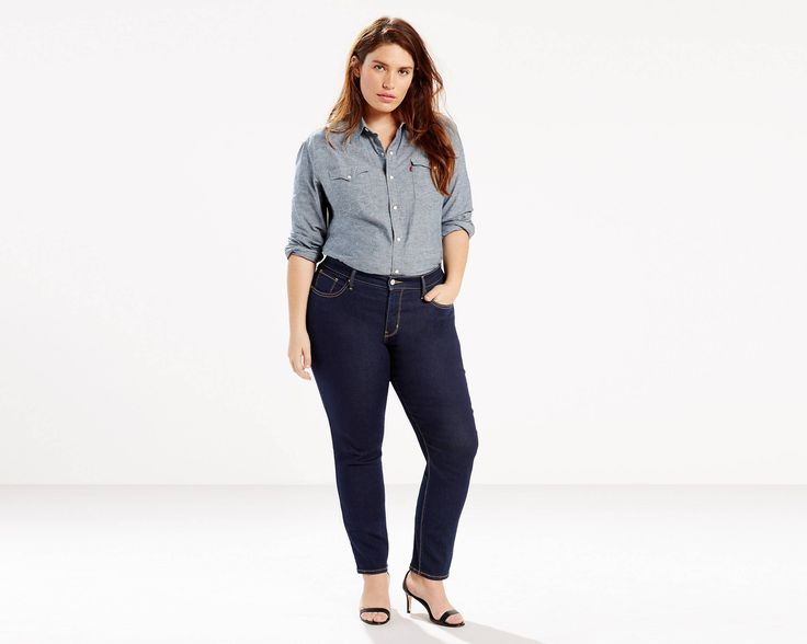 in 16M - Designed to smooth and enhance, our new shaping jeans help slim your tummy, lift your seat and lengthen your legs. Own what you have got. These skinny shaping jeans shape through the hip and thigh with a skinny leg, and feature a flattering mid-rise and tummy-slimming technology. When you select your size above, the letter represents the inseam (S = 30