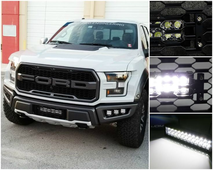 If our LED light bar wasn't the first thing that caught your eye, then it's doing its job! Maybe? Our exclusively designed mounting brackets allow you to set your LED light bar behind your mesh for a discreet look. Click through to learn more.