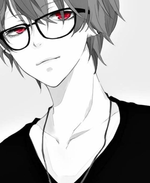 Hot anime guys and red eyes lol here you go lol