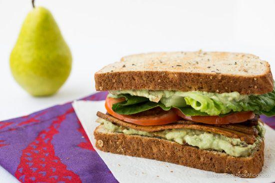 TLT Sandwich (tofu, lettuce, tomato) | vegan! | Pinterest