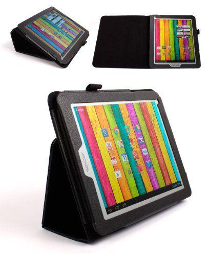 DURAGADGET Funda De Cuero Sintético Con Soporte Y Función De Dormir/Despertar Magnético Diseñado Para El Archos 80 Titanium Tablet De 8 Pulgadas (ARM Cortex A9 1.6GHz, 1GB RAM, 8GB Memoría, WiFi, 2x Cámara, Android 4.1) B00CZC0HJU - http://www.tabletsprecios.com/duragadget-funda-de-cuero-sintetico-con-soporte-y-funcion-de-dormirdespertar-magnetico-disenado-para-el-archos-80-titanium-tablet-de-8-pulgadas-arm-cortex-a9-1-6ghz-1gb-ram-8gb-memoria-wifi-2x-c.html