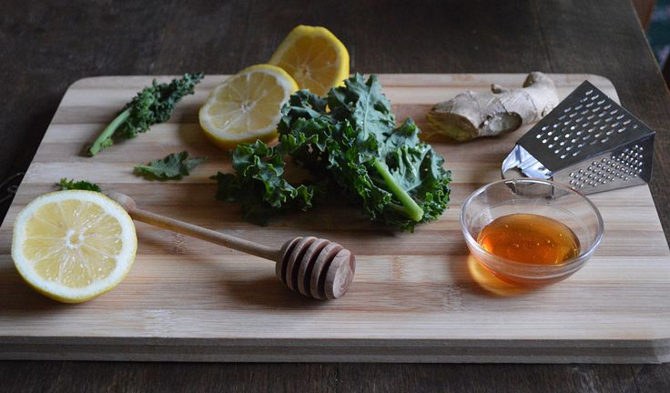 Crispy Kale Chips infused with bold lemon and spicy ginger! (gluten ...