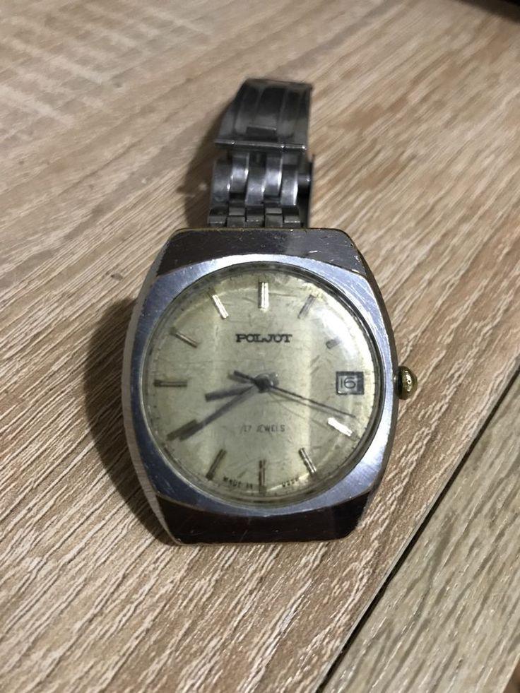 Poljot Полет Rare Vintage  watch USSR Man's 17 Jewels  | eBay