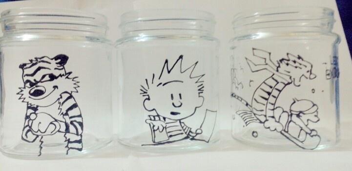 Calvin and Hobbes jars :)